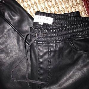 Pacsun bullhead denim co. Faux leather pants